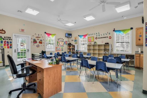 Classroom and activity room