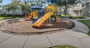 Playground with slides